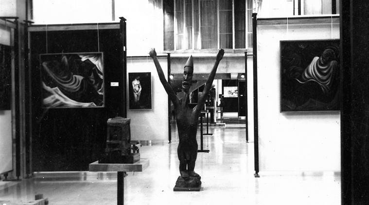 An image of the Chandigarh museum from 1968. (Express photo)