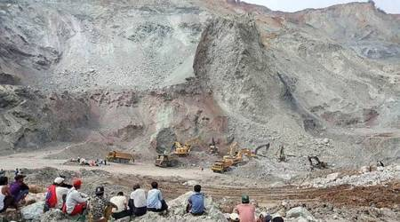 Waste landslide at Myanmar jade mining site kills 14