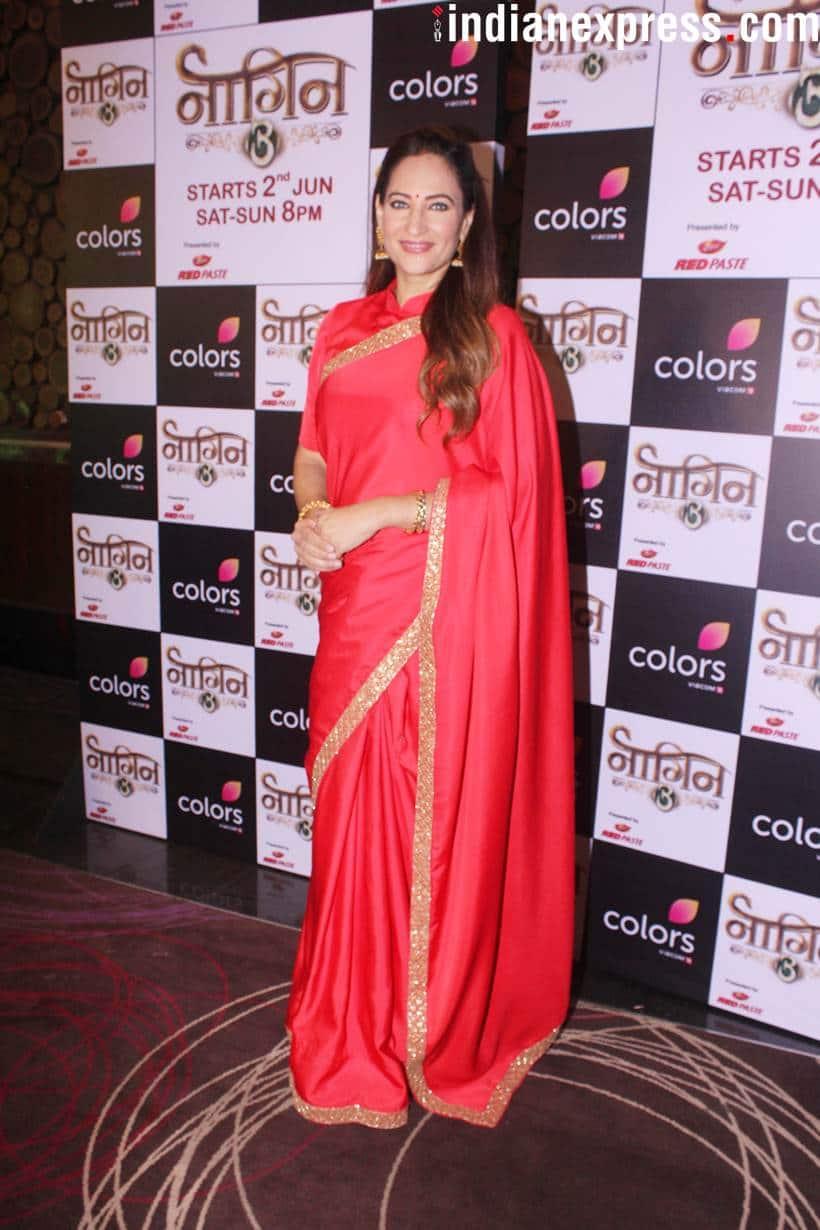 Rakshanda Khan at Naagin 3 launch