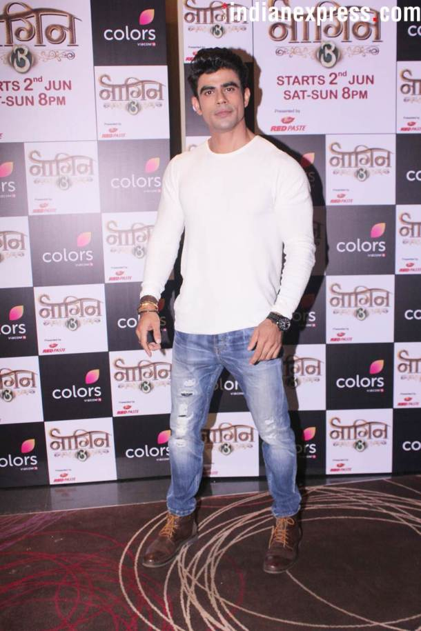 ankit mohan at Naagin 3 launch