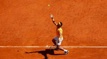 Rafa Nadal vs Novak Djokovic Highlights: Rafael Nadal beats Novak Djokovic 7-6, 6-3 to move into Rome final