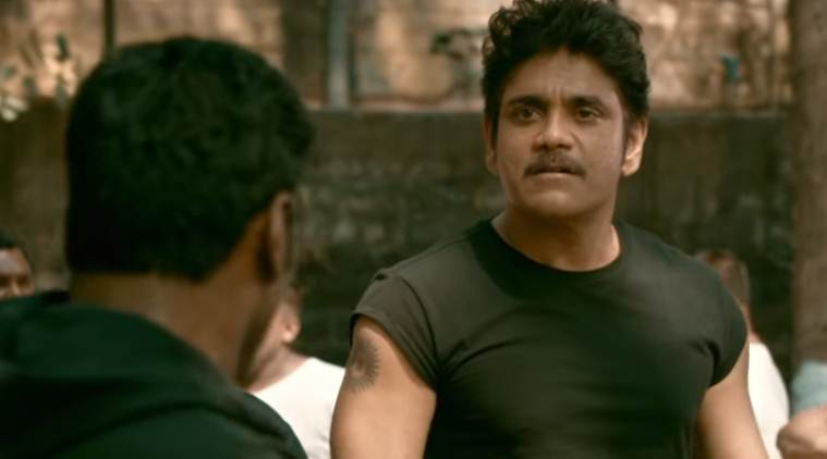 nagarjuna akkineni in Ram Gopal Varma film Officer
