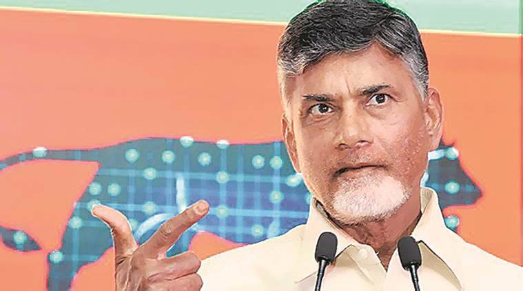 Chandrababu Naidu, polavaram project, andhra pradesh, polavaram project funding, indian express