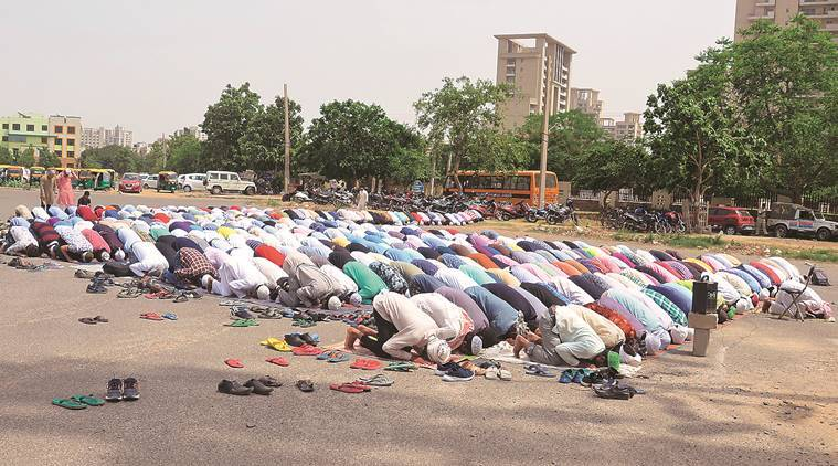 Friday prayers peaceful in Gurgaon