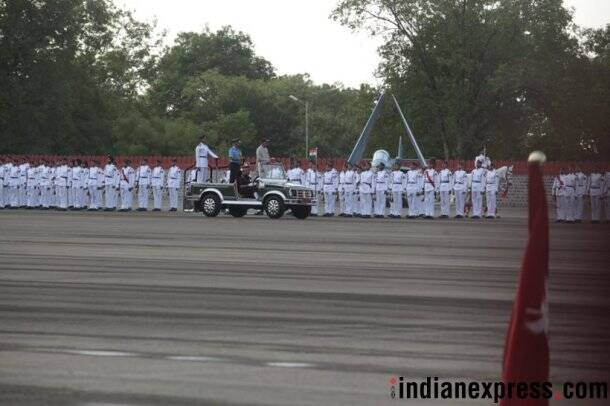 President Ram Nath Kovind reviews passing out parade of 134th course of NDA