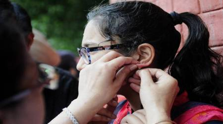 Bihar BCECEB 2018: Women's sleeves snipped off as 'disciplinary step' beforeexam