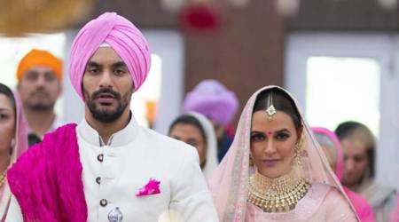 Neha Dhupia and Angad Bedi wedding highlights: Celebrities congratulate newlyweds