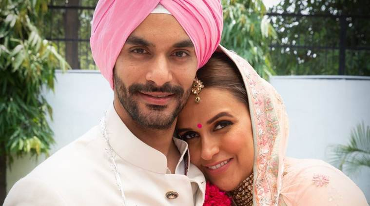 Neha Dhupia Ties The Knot With Angad Bedi The Indian Express