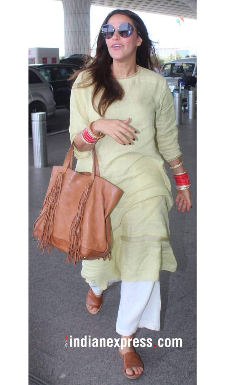 Sonam Kapoor, Sonam Kapoor Anand Ahuja, Sonam Kapoor latest photos, Sonam Kapoor fashion, Neha Dhupia, Neha Dhupia fashion, Neha Dhupia Angad Bedi, Malaika Arora, Malaika Arora casual fashion, indian express, indian express news