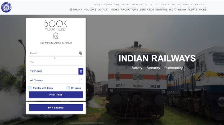 irctc, irctc booking, how to book irctc ticket 2018, book railway ticket online 2018, new irctc website, irctc website, how to book railway tickets on irctc