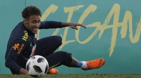 FIFA World Cup 2018: Neymar appears in good shape after Brazil training week