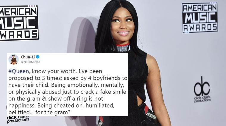 Know your worth': Nicki Minaj's advice for the #Queen inside every