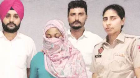 Mohali: Nigerian woman held with one kgheroin