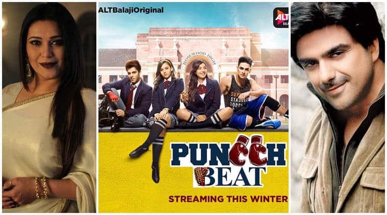 Niki Walia and Samir Soni in ALTBalaji Puncch Beat