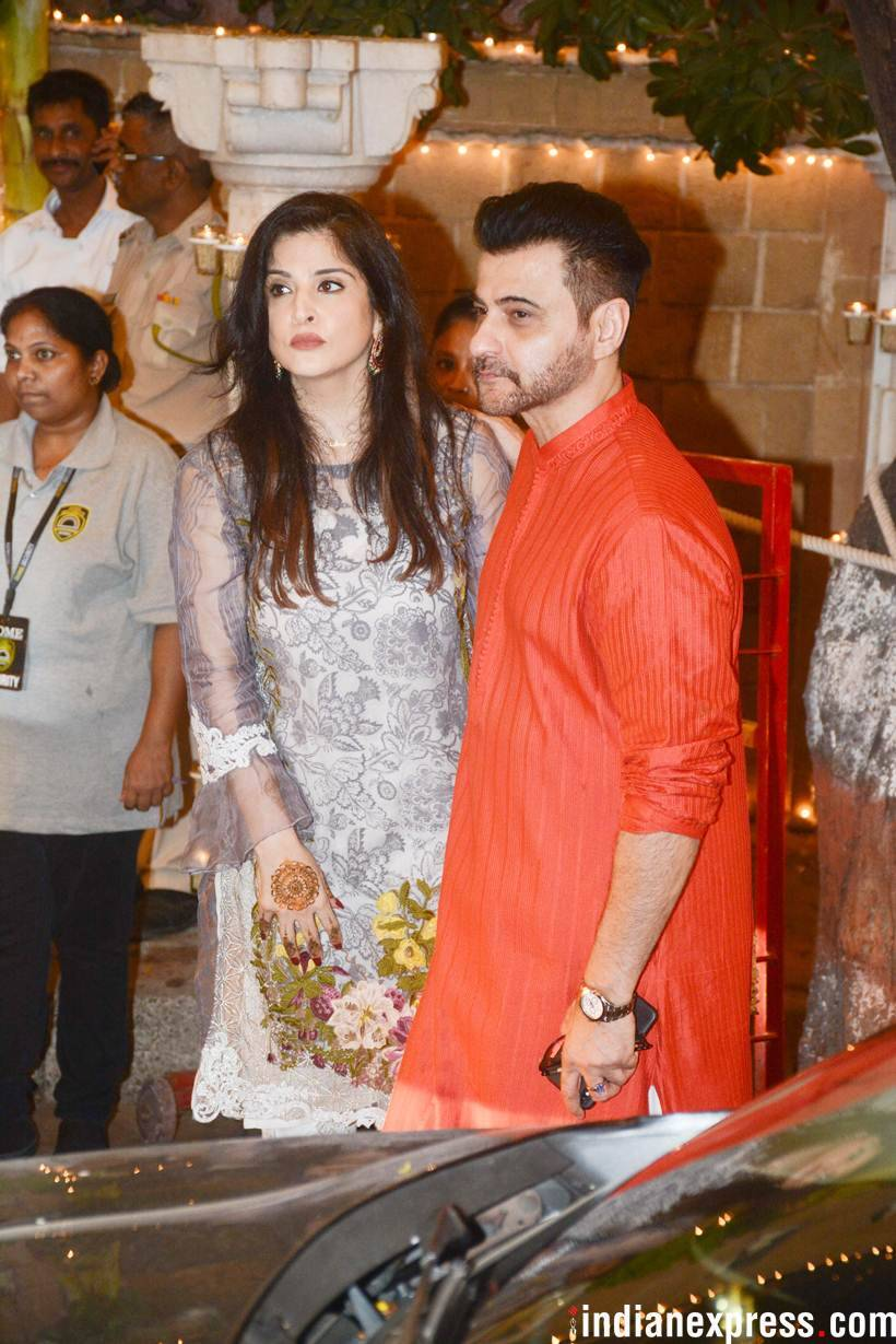 sanjay kapoor and wife