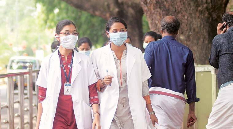 The outbreak of Nipah virus in Kerala's Kozhikode district, in which at least 12 people have died, affected monsoon retreat to the state. (Express photo)