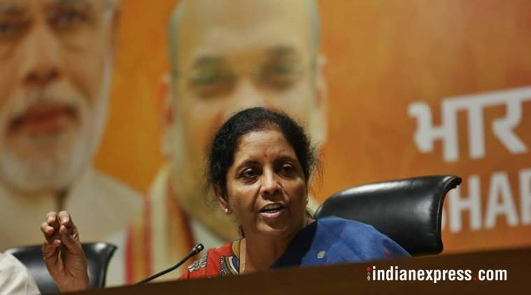 Nirmala Sitharaman gives OPS the cold shoulder