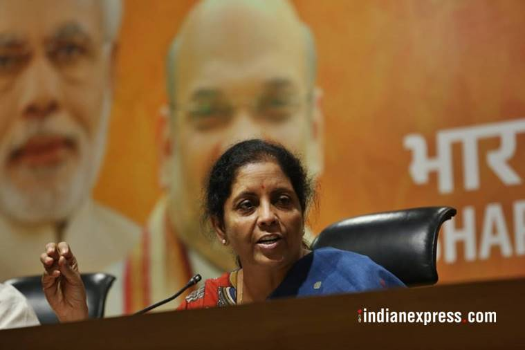 Chargesheet against Chidambaram is Congress' Nawaz Sharif moment, says Nirmala Sitharaman