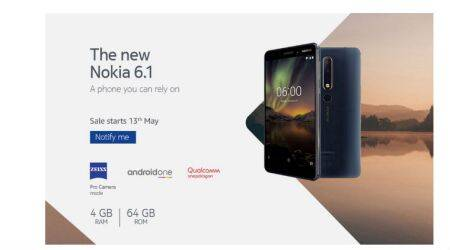 Nokia 6 (2018) 4GB RAM launched in India, sale on Amazon from May13