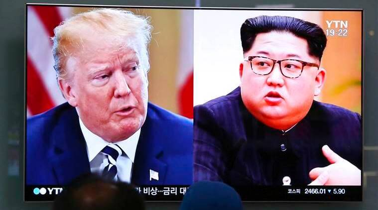 north korea, kim jong un, korean diplomats, north korea us summit, kim kye gwan, cheo son hui, indian express