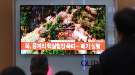 North Korea demolishes nuclear test site amid doubts over summit