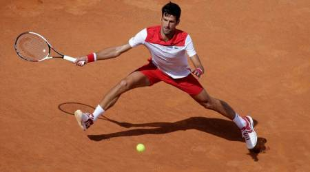 Novak Djokovic, Kei Nishikori advance to second round in Rome