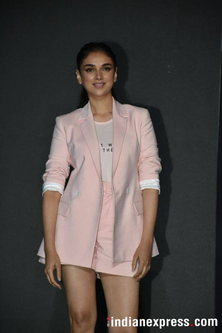 Aditi Rao Hydari at OnePlus 6 launch