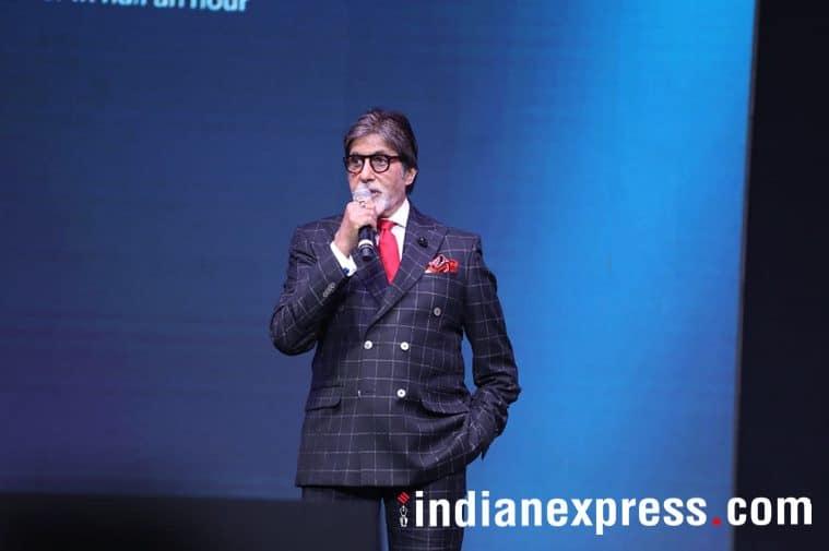 Amitabh Bachchan speaks at OnePlus 6 launch