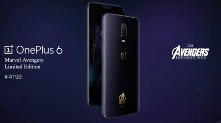 OnePlus 6 Marvel Avengers limited edition revealed, will come in 8GB RAM+256GBstorage