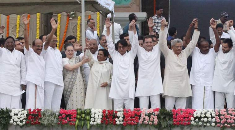 Unprincipled alliance that Opposition seeks to build across the country gifts BJP an opportunity in 2019