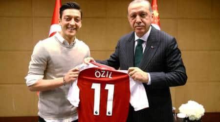Mesut Ozil, Ilkay Gundogan under fire for posing with Turkey President TayyipErdogan