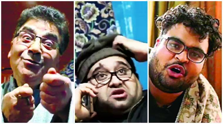 Kashmiri Pandit, Kashmiri Pandit boy, theatre artist Rattan Chakoo, Shushant Chakoo, YouTube comic video series, Koshur Humour, YouTube channel Koshur Humour, Kashmiri Pandits and Muslims, Jammu Kashmir, eye indian express
