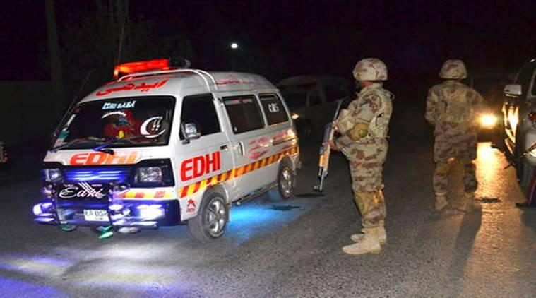 Five people killed in explosion at hotel in northwest Pakistan