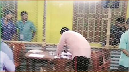 West Bengal Panchayat polls: In full view of officials, man marks ballots in Nadia, resultswithheld