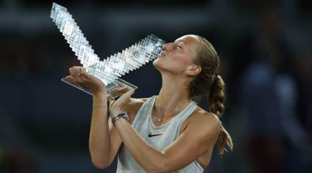 Petra Kvitova outlasts Kiki Bertens to clinch 3rd Madrid Opentitle