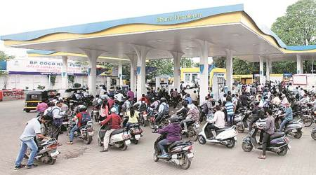 Petrol price cut by 7 paise, diesel by 5 paise