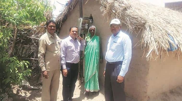 Phaltan village gets electricity for first time, MSEDCL, village in maharashtra gets electricity for first time, Maharashtra State Electricity, indian express, phaltan taluka