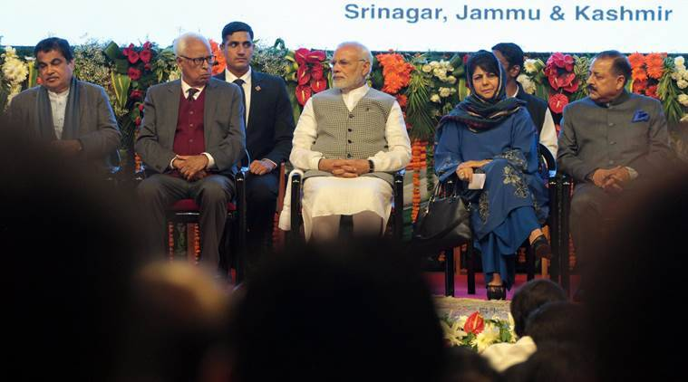 PM Modi in Srinagar