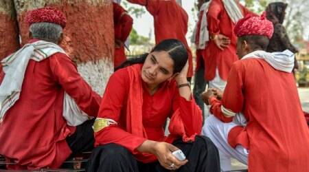 Meet Manju Devi, the first woman porter of North-West Railways in Jaipur