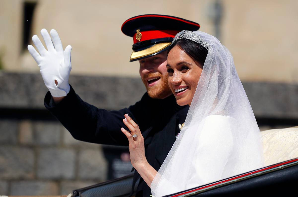 royal wedding 2018 highlights queen hosts wedding reception for newlyweds prince harry and meghan markle lifestyle news the indian express https indianexpress com article lifestyle life style meghan markle prince harry wedding live updates pics latest news 5182199