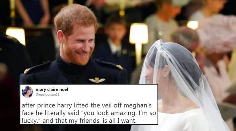 royal wedding 2018 prince harry said i am so lucky looking at meghan markle twitterati cannot stop gushing trending news the indian express royal wedding 2018 prince harry said