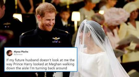 Royal Wedding 2018: The way Prince Harry looks at Meghan Markle is all Twitterati want from theirpartners