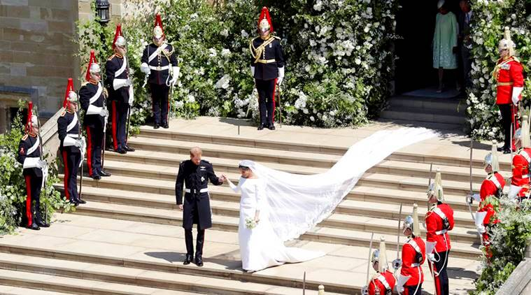 royal wedding 2018 prince harry and meghan markle s wedding vows kiss and other epic moments lifestyle news the indian express https indianexpress com article lifestyle life style royal wedding 2018 prince harry meghan markle first kiss husband wife 5183344