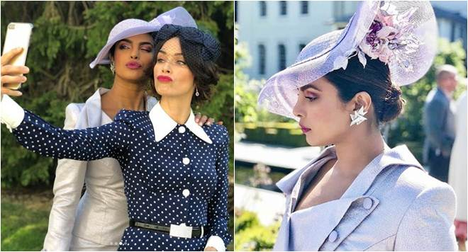 priyanka chopra at meghan markle and prince harry wedding