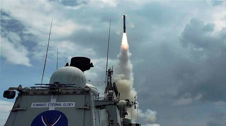 Indian made supersonic interceptor missile successfully test fired in Balasore