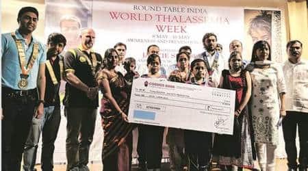 pune Thalassemia patients, Round Table India, Thalassemia Awareness Week, Actor Jackie Shroff, pune ngos, indian express