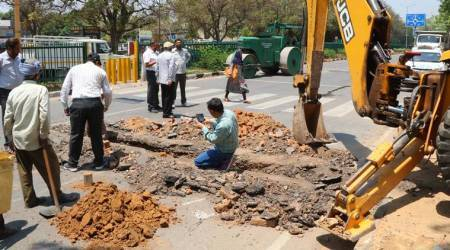 Chandigarh: Madhya Marg's level higher than adjoining roads, UT ropes in CRRI to suggest steps