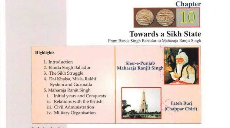 Row over PSEB History syllabus: Six chapters on Punjab history for