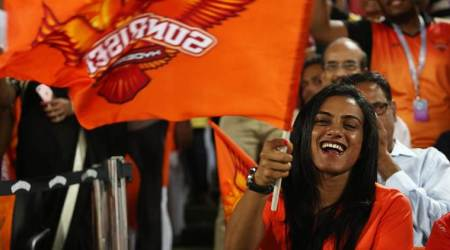 IPL 2018: PV Sindhu cheers for Sunrisers Hyderabad