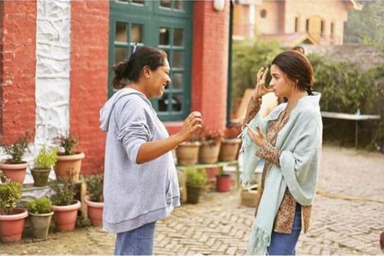 alia bhatt with meghna gulzar